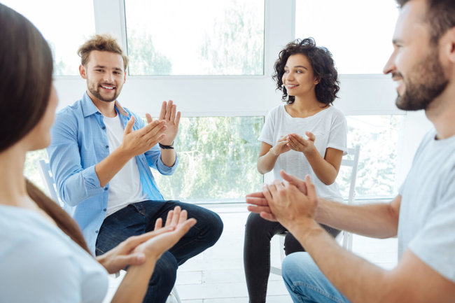 group therapy during rehabilitation in san antonio