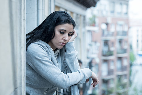 woman struggling with codependency and addiction