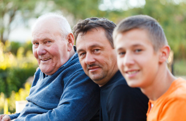 three generations of men is alcoholism genetic